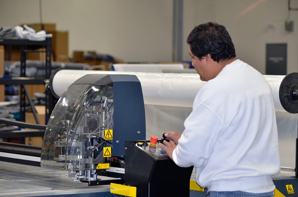 Longtime Alpha Tekniko employees, skilled at operating CNC equipment, help assure that product designs are efficient to manufacture.