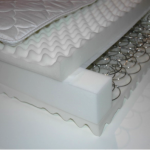 Alpha Tekniko's innerspring mattress combines effective pressure redistribution with the comforts of home.