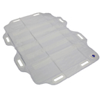 Unique welded products in Alpha Tekniko's portfolio include inflatable transfer sheets for patient movement.
